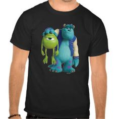 Sulley Holding Mike Tee Shirts   Monsters University