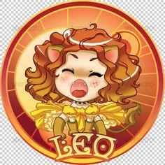 Leo Zodiac - Characters Illustrations