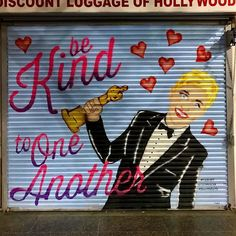 "On such an important opinionated and emotional day...Let's always remember to ""Be Kind to One Another!"" @theellenshow #WeAreAllInThisTogether #vote #election2016 #beautifyearth #beautifyhollywood"