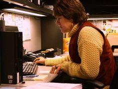 accountant desk