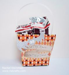 DCWV - Spooky Time stack. Halloween Treat Box