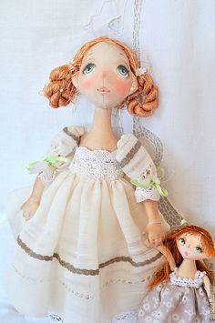 Купить Маруся - оригинальный подарок, коллекционная кукла, авторская ручная работа, текстильная кукла