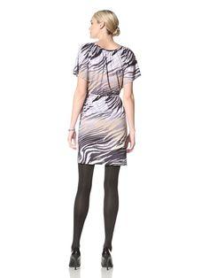 Women's Tiger Luxe Jersey Dress (Grey/Multi)
