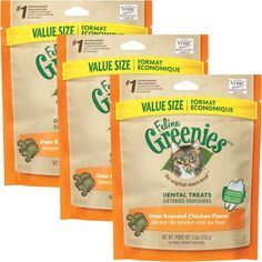 3PACK Greenies Feline CHICKEN (1.2 lbs) >>> Read more  at the image link.