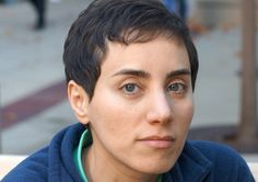 Maryam Mirzakhani is the first woman to win a Fields Medal, the highest prize in math. Congratulations!