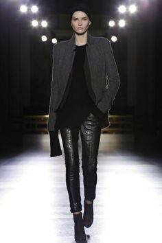 Haider Ackermann Ready To Wear Fall Winter 2014 Paris Fashion Week