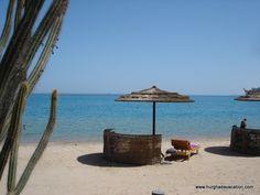 A local beach in Hurghada, at Esplanada Resort, Red Sea, Egypt. Red Sea, Patio, Spaces, City, Beach, Outdoor Decor, The Beach, Cities, Beaches