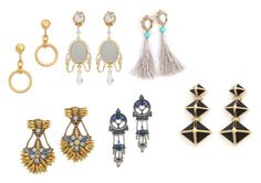 """Ear rings collection - 3"" by jamuna-kaalla ❤ liked on Polyvore featuring Dolce&Gabbana, Marni, St. John, DANNIJO and Deepa Gurnani"