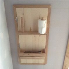 trappe local technique dans un wc