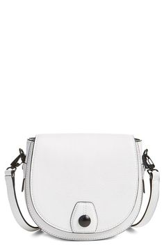 rag & bone 'Mini Flight' Leather Crossbody Saddle Bag available at #Nordstrom