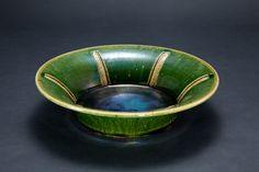 織部刻文反鉢 Bowl with engraved, Oribe type2012