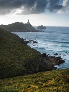 La costa de los faros del fin del mundo - En la Costa da Morte, Galicia
