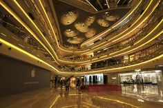 iapm mall on huaihai road, shanghai
