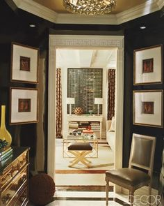 Philipu0027s Own Manhattan Apartment Featured In Elle Decor, December 2009.  Philip Gorrivan Design.