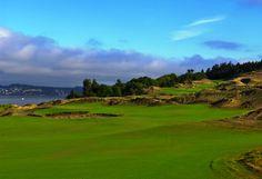 Golf Hole #2 Par 4 Chambers Bay