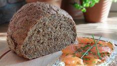 Koolhydraatarm brood, vooral uit de supermarkt, is rijk aan vetten.Verbeter je gezondheid en val makkelijker af door je koolhydraatarm brood zelf te bakken. Low Carb Bread, Keto Bread, Low Carb Keto, Low Carb Recipes, Healthy Cake, Healthy Breakfast Recipes, Healthy Baking, Healthy Recipes, Cooking Bread