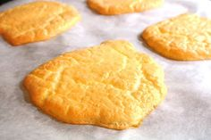 Gluten Free Grain Free Low Calorie Cloud Bread.