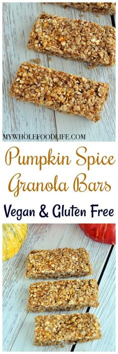 pumpkin granola bars, pumpkin recipes, pumpkin, pumpkin granola bar recipes, granola bars, vegan pumpkin recipes, vegan pumpkin granola bars, gluten free