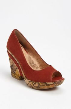 Söfft Olivia Pump, in Terracotta.  LOVE these rich, Fall colors!!!  Available at #Nordstrom