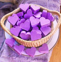 50 Purple Lavender Soaps. Love Heart Mini guest soap. Bridal Baby Shower Wedding Favours Hen Night Christening Party Event Gifts. Bulk order