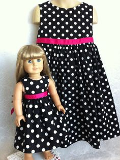 Custom Matching Polka Dot Dress for Child and by MySundayBest, $48.00