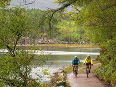 Coast-to-coast Scotland mountain bike tour -Highlands and Islands Adventures