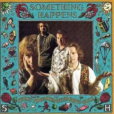 """FREE U.S. Shipping! 1990 CD! Something Happens """"Stuck Together With Gods Glue"""" #AlternativeIndie"""