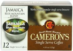 CAMERON'S JAMAICA BLUE MOUNTAIN BLEND COFFEE 48 SINGLE SERVE CUPS by Cameron's -- Awesome products selected by Anna Churchill