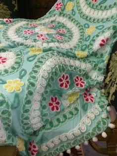 Chenille quilt