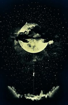 #moon#dark