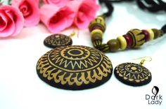 Buy handloom, hand crafted and customized gift product at one place India Jewelry, Jewelry Sets, Teracotta Jewellery, Terracotta Jewellery Designs, Madhubani Art, Play Clay, Thread Jewellery, Polymers, Beaded Necklaces