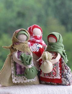Russian folk textile dolls - Google'da Ara