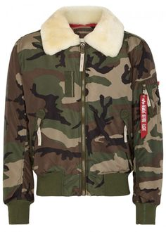 1fcd09df65cc6 ALPHA INDUSTRIES INJECTOR III SHELL BOMBER JACKET - SIZE M.   alphaindustries  cloth   · Camo Bomber JacketCamouflage JacketMens ...