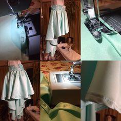 hilow frost mint satin skirt with pelon 910 silky print belt waist Satin Skirt, Frost, My Design, Mint, Clothes For Women, Storage, Skirts, Home Decor, Outerwear Women