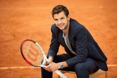 Френска тенисистка е новата жена до Григор