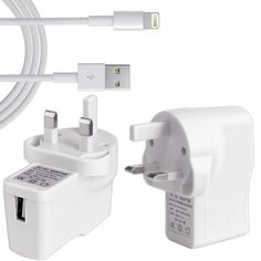 USB Mains Charger for your IPad Mini iOS 8 & 7 Compatible Fast charges iPad fully in under 180 minutes from mains The cable will connect your iPad Mini to your computer and charge it, as it is USB 2.0 Lightweight Charger perfect for traveling