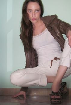 White pants KOCCA - Today...is bad day!! (by Ariel.hobby. G.) http://lookbook.nu/look/3494239-Today-is-bad-day