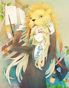 Luna ... Luna ... J'adore ce personnage. Je trouve qu'elle apporte à l'histoire un brin de folie et de fraicheur ... Et puis, sincèrement, je craque pour son style unique xD
