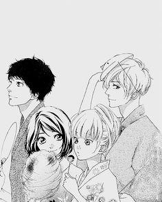 This manga is cute. // Omoi, Omoware, Furi, Furare