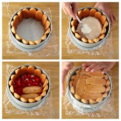 Frosting Recipes, Cake Recipes, Delicious Fruit, Yummy Food, Charlotte Cake, Tiramisu Trifle, Sweet Pie, Pie Cake, Dessert Buffet