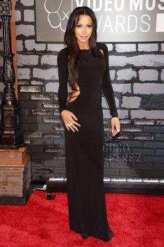 MTV Video Music Awards 2013: Naya Rivera walks the red carpet!
