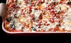 Our Favorite Lasagna with Sausage, Spinach, and Three Cheeses