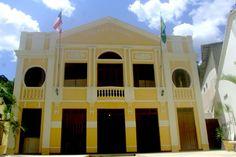 Nazaré, BA - Brasil - Cine-teatro Rio branco, o mais antigo da América Latina