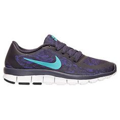 SALE!! Blinged Purple / Jade Women's Nike Free 5.0 V4