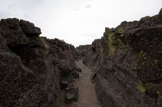 Natural Defenses @ Captain Jack's Stronghold, Lava Beds