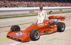 1977 Indianapolis 500 A.J. Foyt Chassis/engine: Coyote/Foyt A banner year at the speedway was headlined by A.J. Foyt streaking into the history books as the first four-time winner of the Indianapolis 500. Only seven years prior, women were not allowed in the garage area, but in 1977, Janet Guthrie shattered the gender barrier becoming the first woman to race at Indianapolis. She finished 29th after a bad timing gear ended her day after 27 laps.