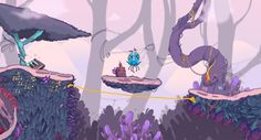 HEX - Platform Game by Andrés Maquinita, via Behance