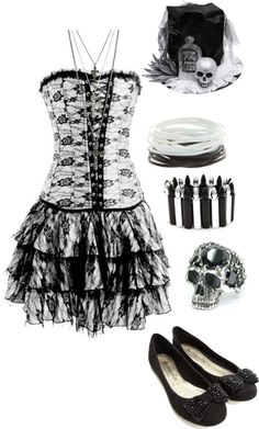 Buy Gothic Inspired White lace up corset dress at Wish - Shopping Made Fun White Corset Dress, Gothic Corset Dresses, Goth Dress, Gothic Outfits, Lace Corset, Dress Lace, Lace Gloves, Underbust Corset, Lolita Dress