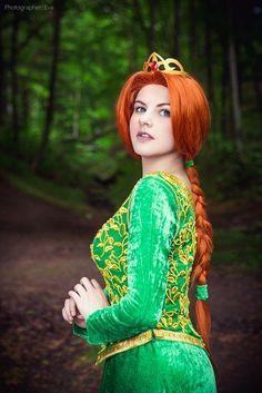 Disney Cosplay Fiona- Shrek, Cosplay by Evgenia Galkina, ЕVA - Cosplay-photo -