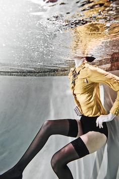 Underwater Fashion Photography by Bryan Powell